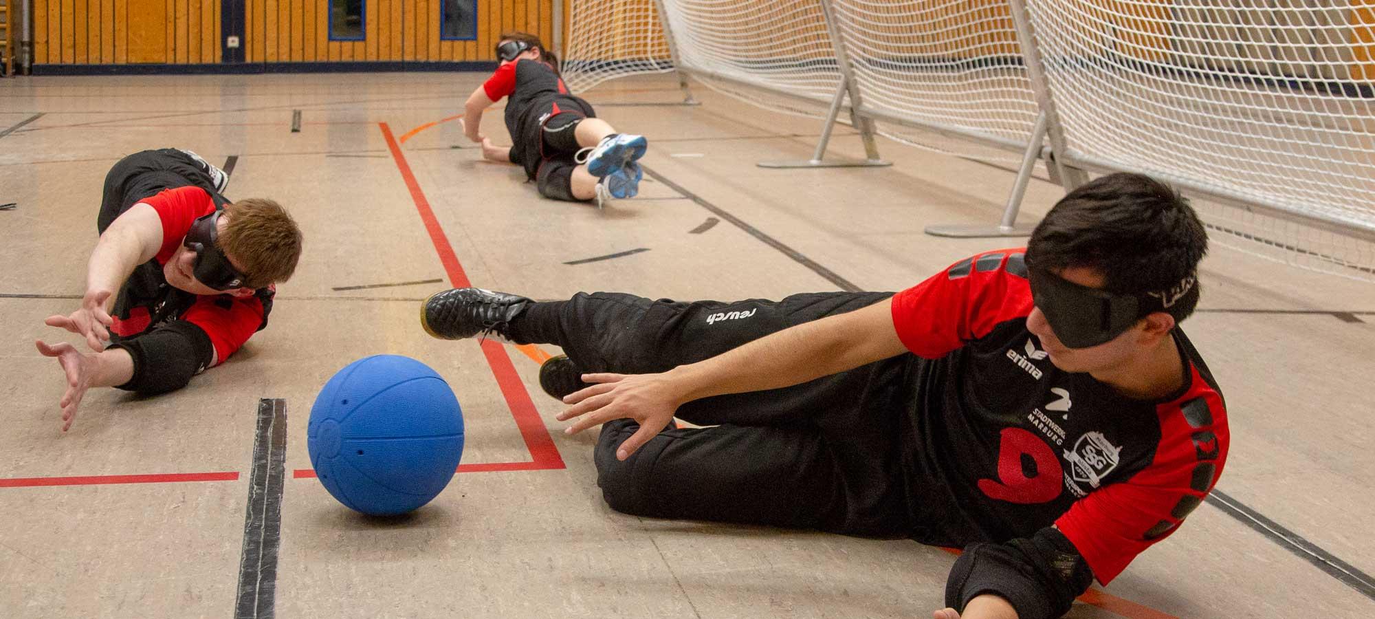 Spielszene Goalball