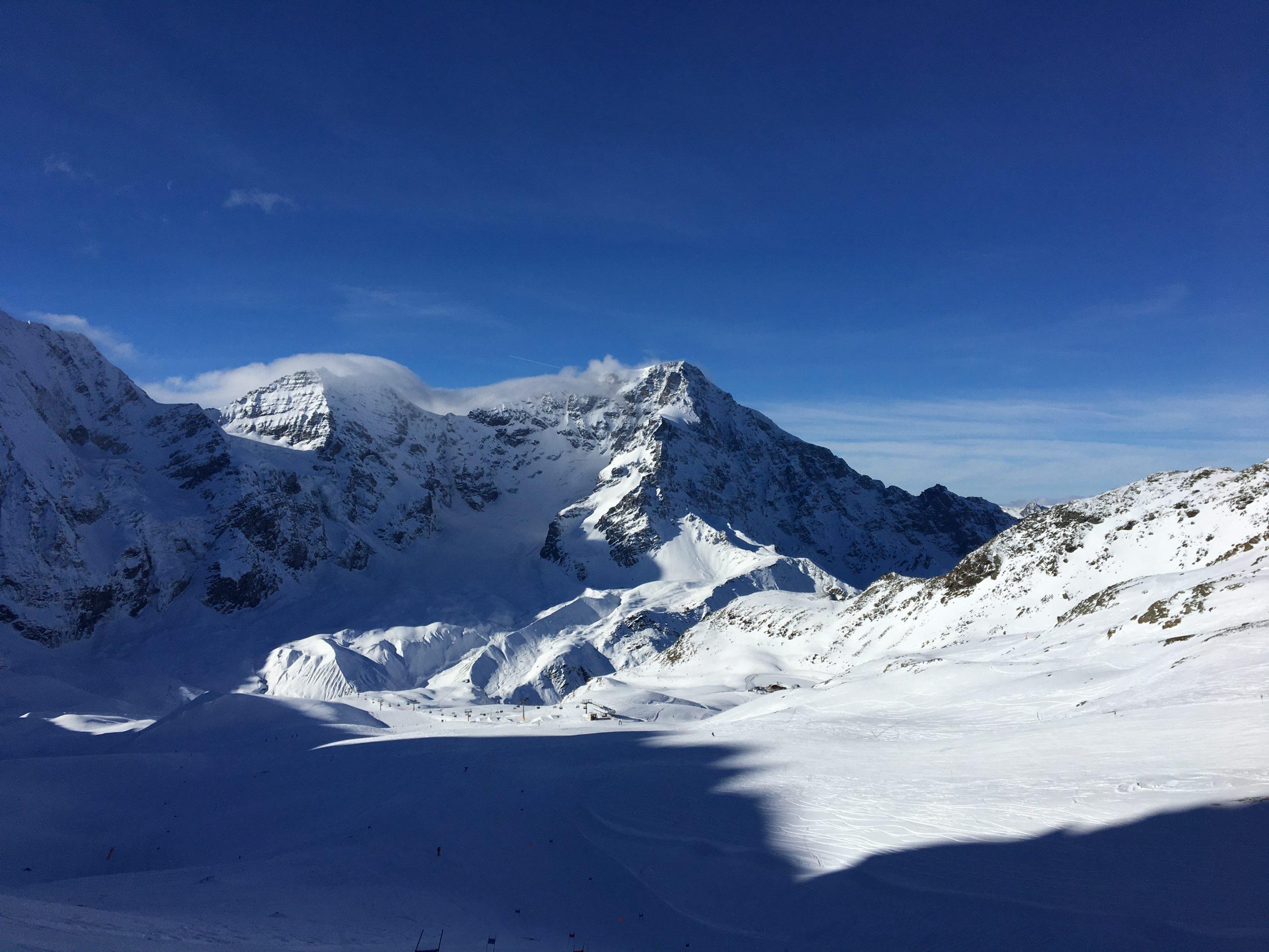Schneebedeckte Gipfel: Gran Zebru